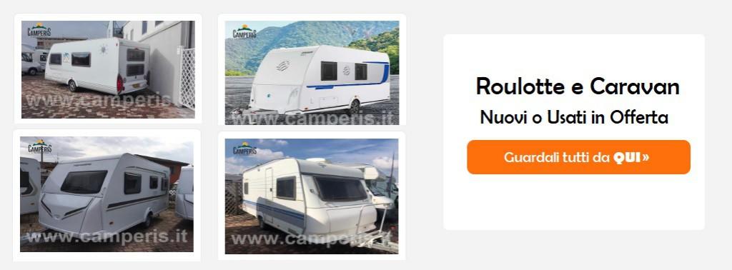 Caravan usati e roulotte usate