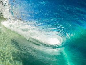 foto di onda in California dal nostro tour americano in camper