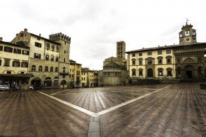 week end ad Arezzo in Toscana in camper