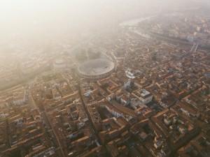 viaggiare per un week end in camper Verona bellissima veduta della città