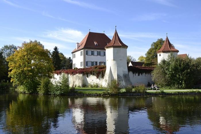 Castello di Blutenburg viaggio in camper in germania