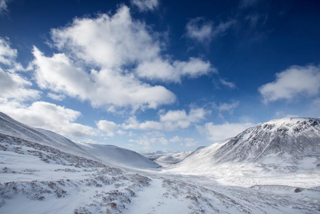 Cairngorm sciare in scozia viaggio in scozia in camper