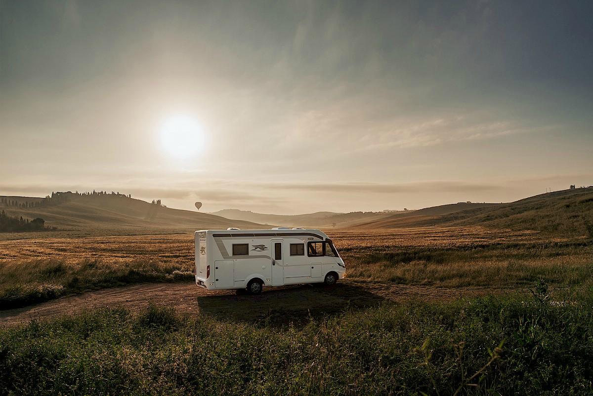 I camper motorhome Laika sono i veicoli perfetti per viaggiare con stile e comodità